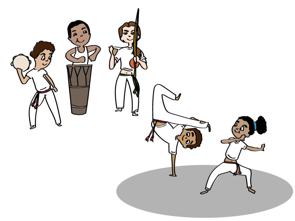 How to practise Capoeira with kids